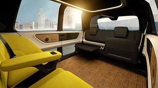 El interior del Sedric no tiene un puesto concreto de conducción