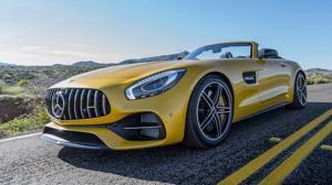 Espectacular frontal para el nuevo AMG GT C Roadster