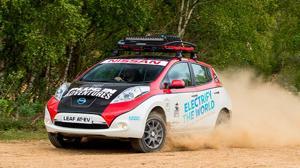 El Nissan Leaf AT-EV intentará recorrer 16.000 kilómetros entre el Reino Unido Y Mongolia