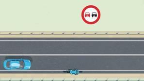 Sigue estas normas para adelantar a los ciclistas de forma segura