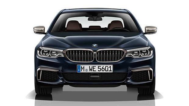 Imagen espectacular para el nuevo BMW M550d xDrive