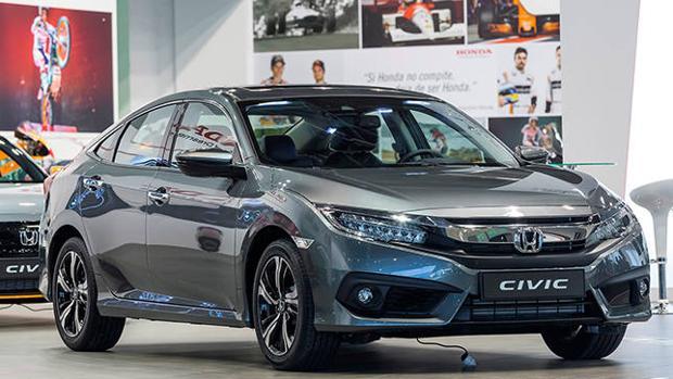 El nuevo Honda Civic Sedan en el Automobile Barcelona 2017