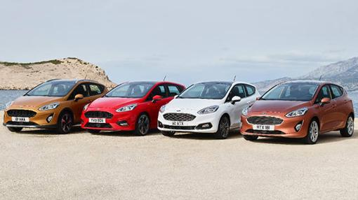 Estas son las cuatro caras del nuevo Ford Fiesta