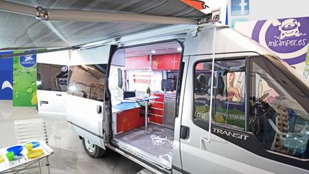 Ford Transit «camperizada» por Micamper.es