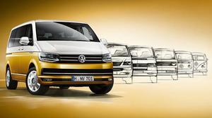 70 años separan al Volkswagen Bulli actual del original