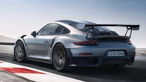 Espectacular trasera para el 911 más potente de la historia de la marca