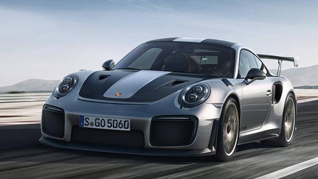 El Porsche 911 GT2 RS es el 911 más potente de la historia