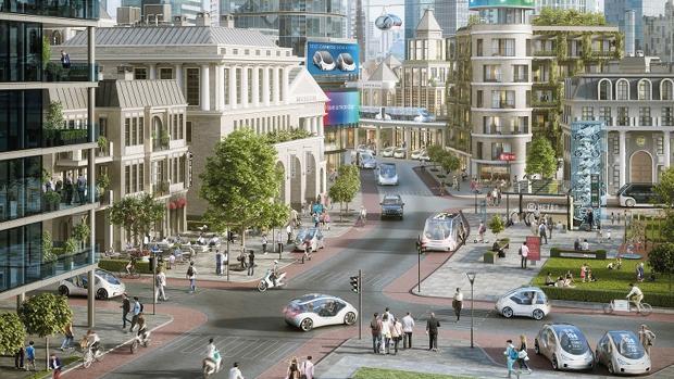 Así será la movilidad en las ciudades «megacongestionadas» del futuro