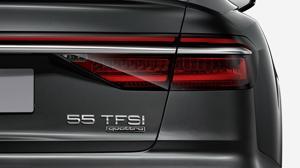 El A8 estrena la nueva nomenclatura de Audi paras las potencias de sus modelos