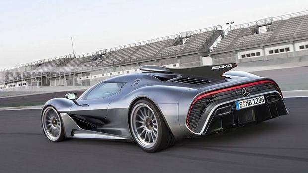 Mercedes presenta el Project ONE para celebrar el 50 aniversario de AMG en Frankfurt