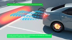 Las colisiones traseras se verán reducidas en un 90% con los nuevos sistemas de seguridad