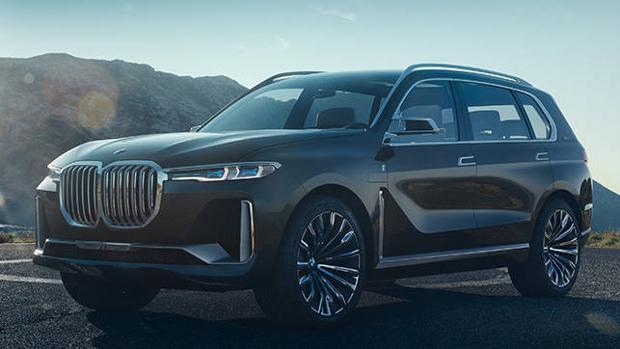 La familia X de BMW crecerá con el Concept X7 iPerformance