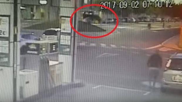 Imagenes del video en donde quedaron registrados los hechos