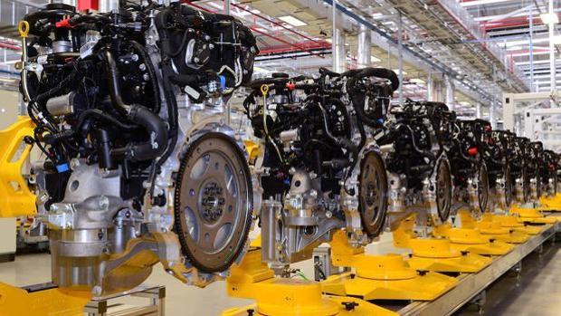 Motores «Ingenium» de gasolina de Jaguar-Land Rover