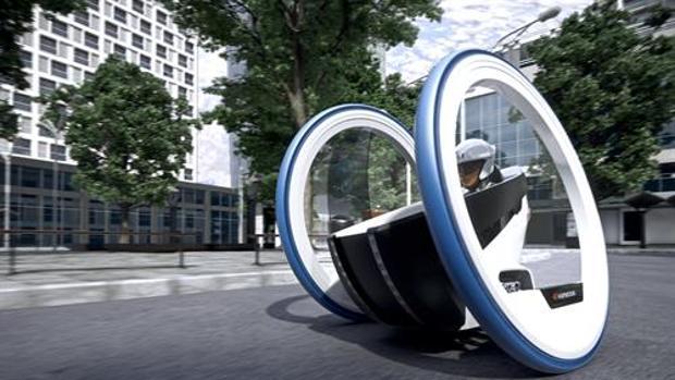 Hankook iPlay, un biciclo-llanta muy manejable
