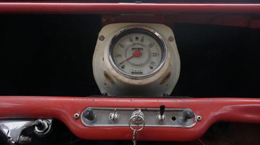 Panel de instrumentos del Austin Mini 850