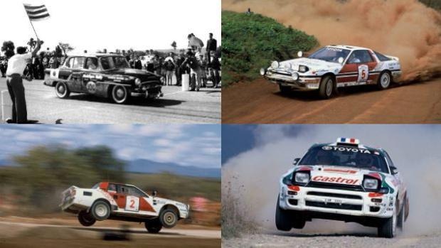 Toyota ha competido en un total de 131 rallys del Campeonato del Mundo en diferentes etapas de participación oficial