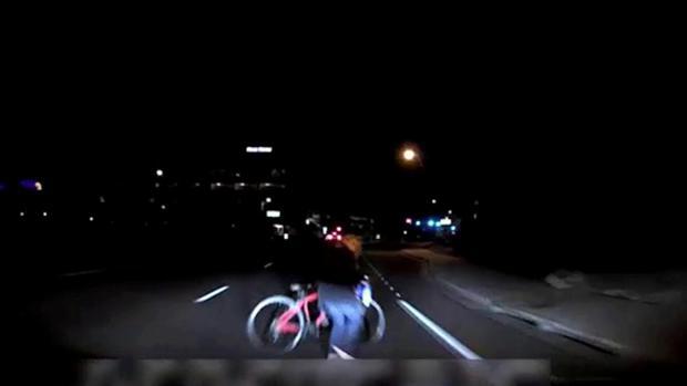 Captura de las cámaras del vehículo instántes antes del atropello