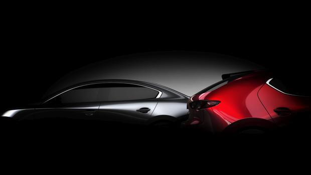Primera imagen oficial del nuevo Mazda 3, inspirado en el prototipo Kai Concept