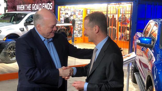 Ford y Volkswagen sellan una alianza para el desarrollo de vehículos comerciales