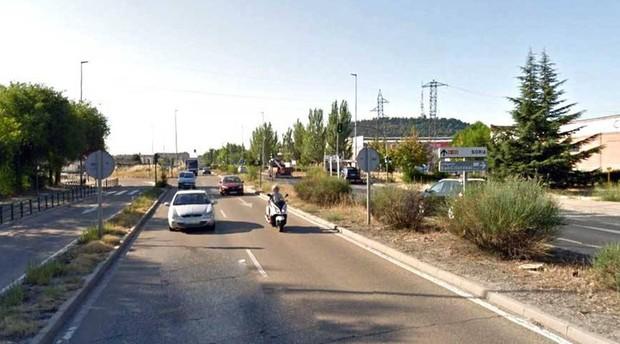 El tramo más peligroso se ha localizado, al igual que el año pasado, en el Km. 358 de la N-122, a la entrada de Valladolid