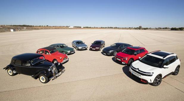 Ponemos a prueba los modelos icónicos de Citroën