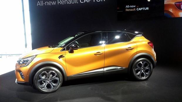 Renault Captur, embajador de la Marca España en Frankfurt