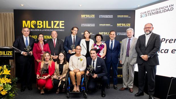Renault premia a la EMT de Madrid, Ayesa y la Fundación Natural de Castilla y León por sus prácticas de movilidad sostenible