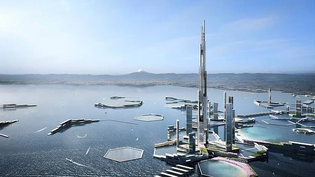 «Sky Mile Tower» medirá casi 1.700 metros y albergará a 55.000 personas