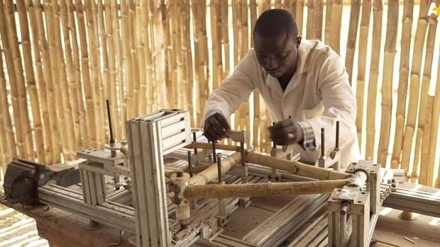 Bicicletas de bambú que reducen la pobreza en Ghana