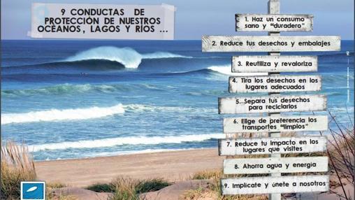 Conductas de protección de oceános, ríos y lagos