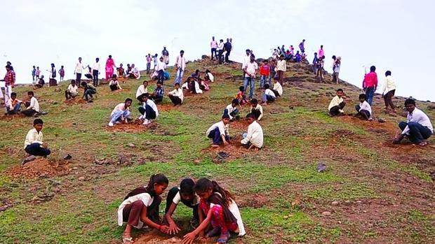 India bate su propio récord y planta 66 millones de árboles en 12 horas