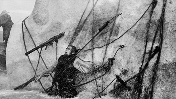 El final de Ahab, en la película clásic