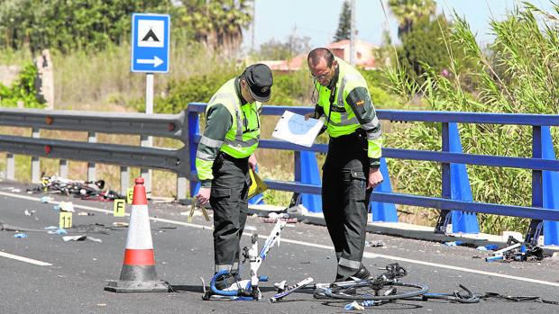 La conductora que arrolló a varios ciclistas el pasado mayo en Oliva (Valencia) dio positivo en alcohol y drogas