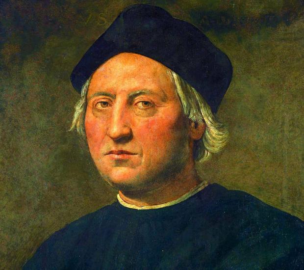 Cuadro de Cristóbal Colón de Ghirlandaio