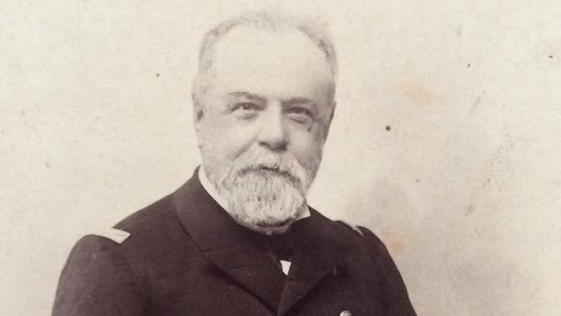 El almirante Cervera, en una imagen de finales del siglo XIX