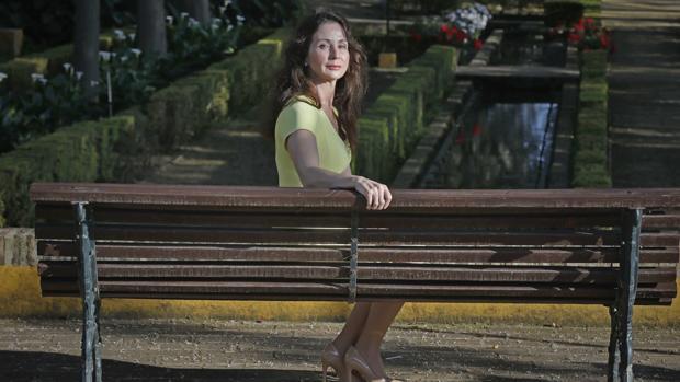 Mercedes Alaya, durante la entrevista con ABC