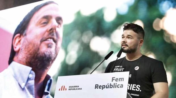 Gabriel Rufián, diputado por ERC en el Congreso