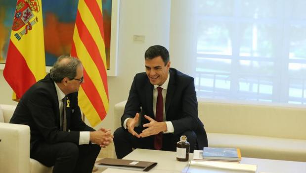 En manos de los que quieren romper España