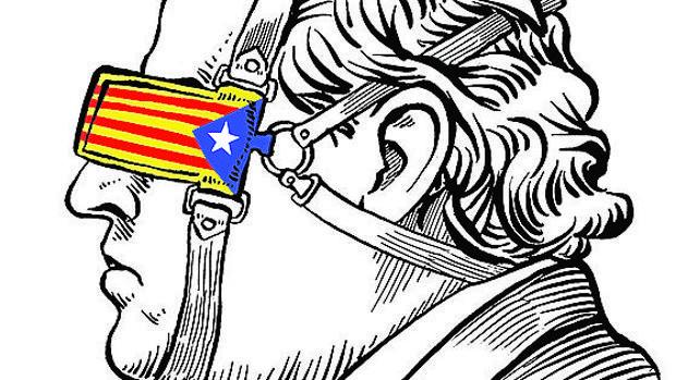 Cataluña dentro de España
