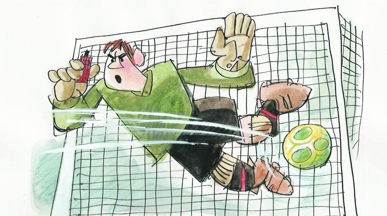 Mingote y el fútbol