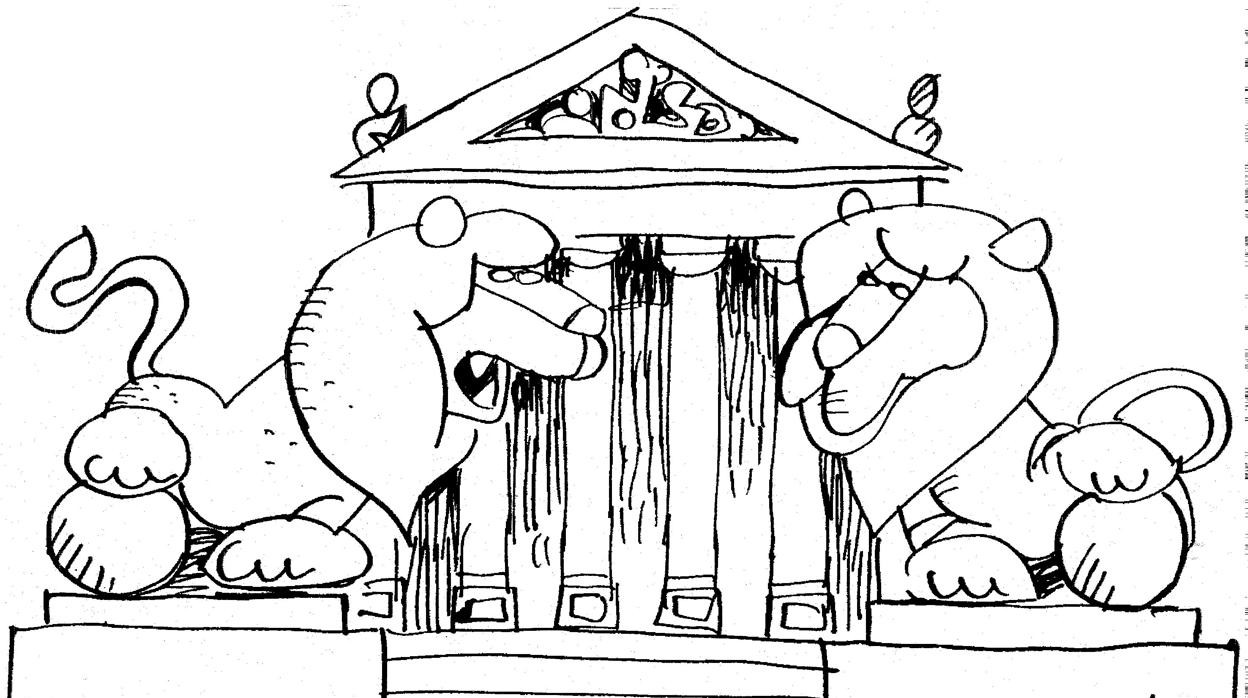 Mingote y los leones del Congreso