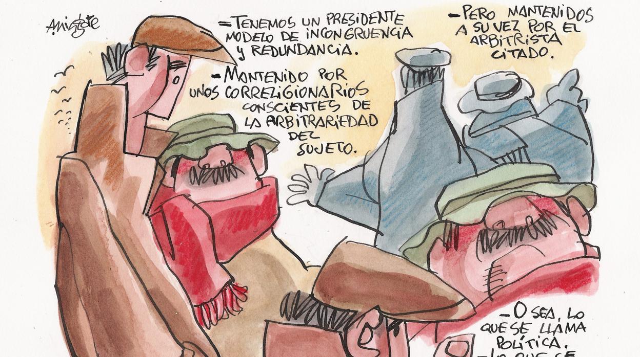 Mingote y el Presidente