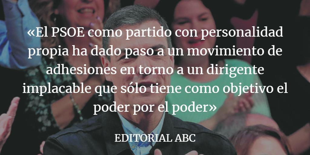 Sánchez pasa el rodillo al PSOE