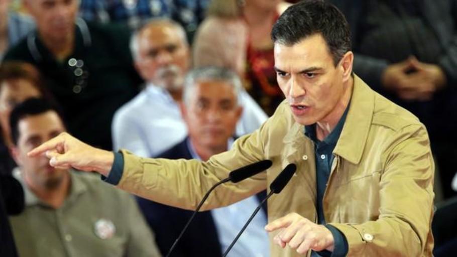 Hay fascismo, pero apoya a Sánchez