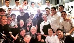Los protagonistas de Juego de Tronos disfrutan de un banquete de lujo en San Sebastián