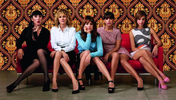 El elenco de actrices de «Julieta», de Pedro Almodóvar
