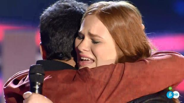 Irene, la «Adele gallega», gana su batalla en «La Voz» y continúa como favorita hacia la final