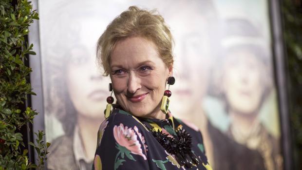 Meryl Streep, en 2015, durante la presentación de «Sufragistas» M