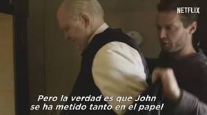 La increíble transformormación de John Lithgow en Winston Churchill